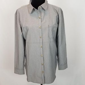 The North Face Women's Medium Grey Shirt -NEW